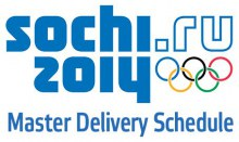 Sochi 2015 Master Delivery Schedule